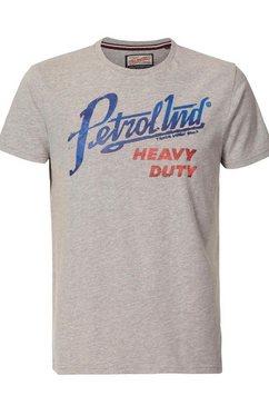 petrol industries t-shirt grijs