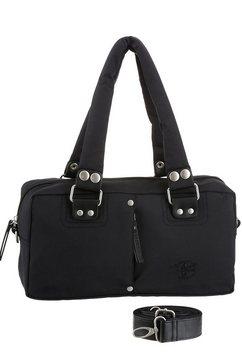 chiemsee tas met afneembare en verstelbare schouderriem zwart