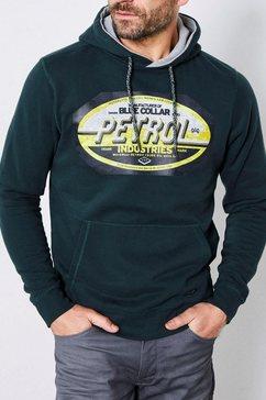 petrol industries hoodie groen