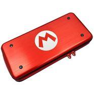 gameconsoles-tas super mario aluminium case rood