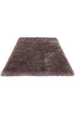 hoogpolig vloerkleed, »micro exclusiv«, guido maria kretschmer homeliving, rechthoekig, h 78 mm bruin