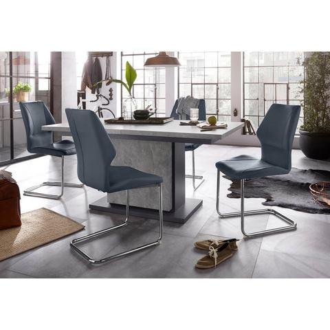 Homexperts eethoek Bärbel-Amelie, breedte 140 cm met lade en 4 stoelen