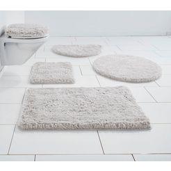 badmat »micro exclusiv«, guido maria kretschmer homeliving, hoogte 55 mm, slijtvast zilver