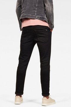 g-star raw slim fit jeans »3301 slim« zwart