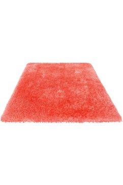 hoogpolig vloerkleed, »micro exclusiv«, guido maria kretschmer homeliving, rechthoekig, h 78 mm rood