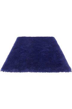 guido maria kretschmer homeliving hoogpolig vloerkleed micro exclusief democratic home editie, bekend van de reclame, woonkamer blauw
