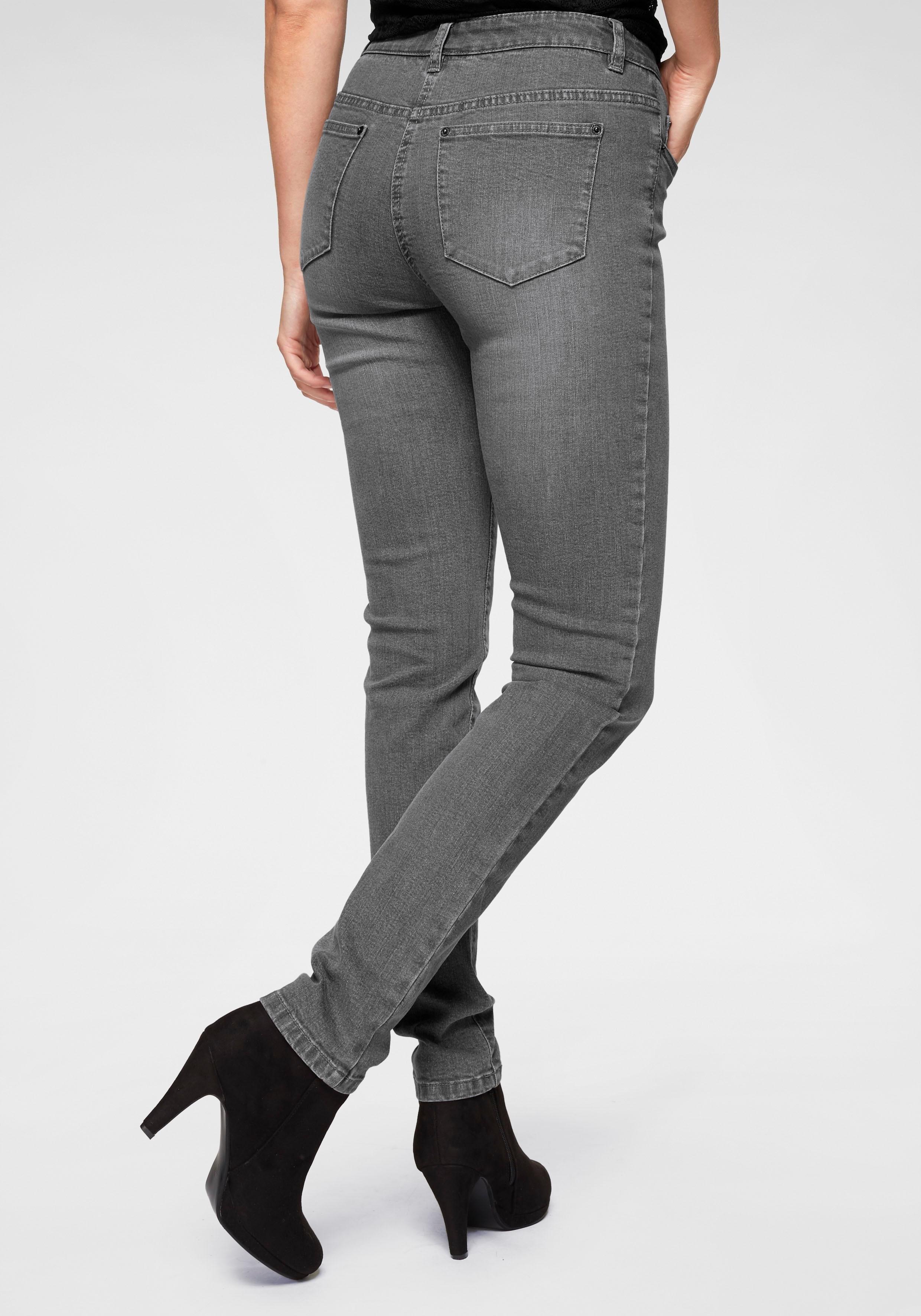 Aniston Casual CHEER Skinny-jeans met bewegingsplooien bij OTTO online kopen