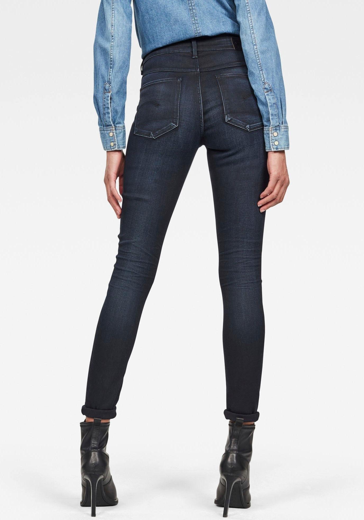 G-star Raw skinny fit jeans »3301 High Skinny« - gratis ruilen op otto.nl