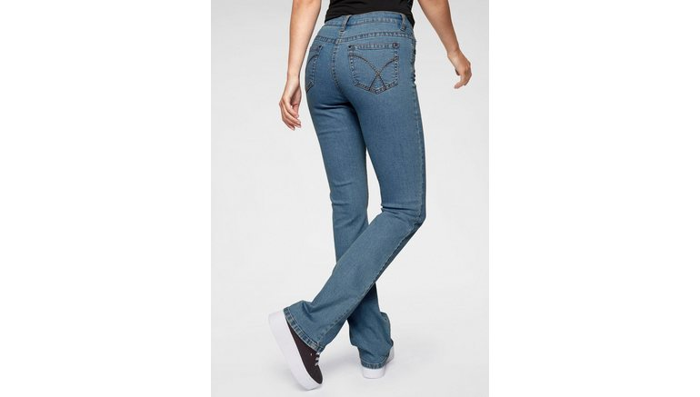 Aniston CASUAL bootcut jeans Simone Regular waist