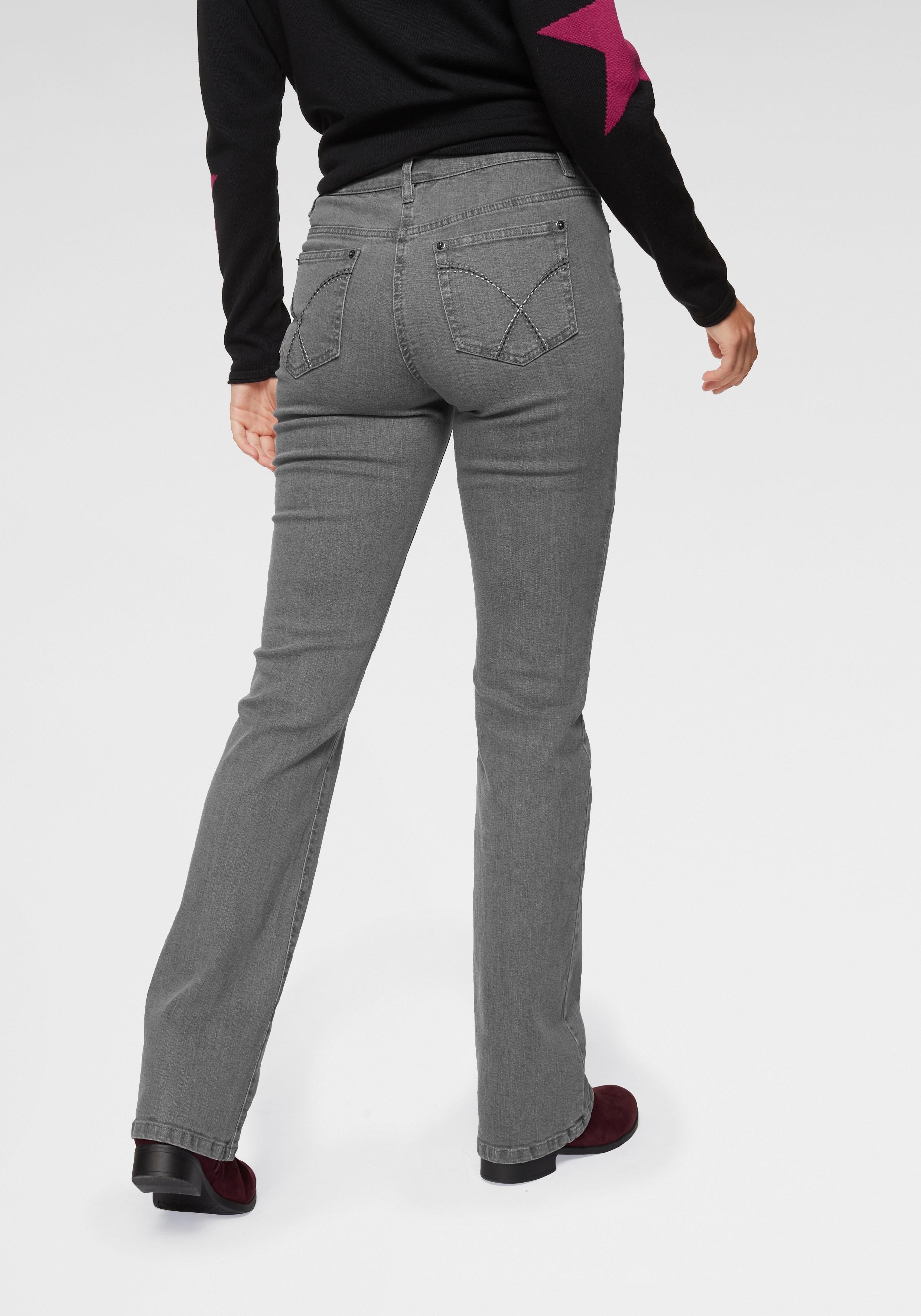 Aniston CASUAL bootcut jeans »Simone« goedkoop op otto.nl kopen