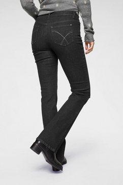 aniston casual bootcut jeans »simone« zwart