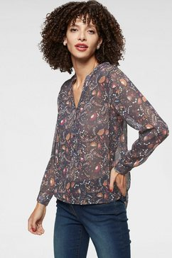 aniston selected chiffonblouse blauw