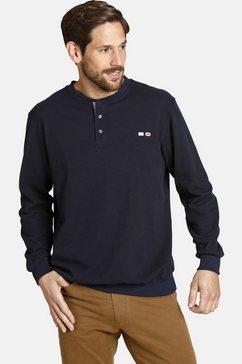 jan vanderstorm sweatshirt »viljar« blauw