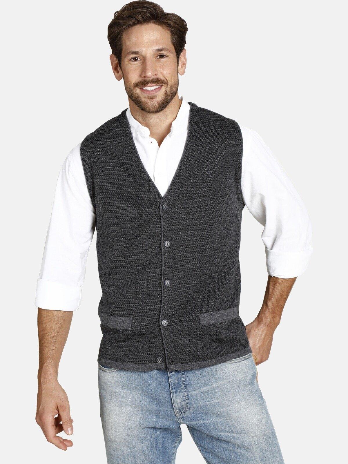 Op zoek naar een Jan Vanderstorm mouwloos vest TANE met warme wol? Koop online bij OTTO