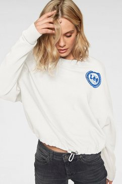lee sweatshirt beige