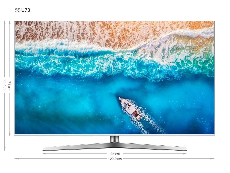Hisense H55U7B led-tv (138 cm / 55 inch), 4K Ultra HD, smart-tv bij OTTO online kopen
