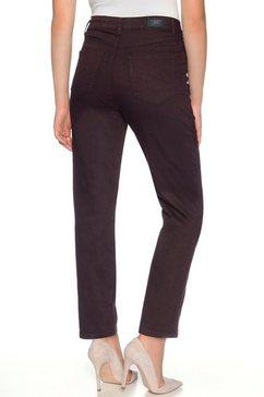 stooker women slim fit jeans »nizza« rood