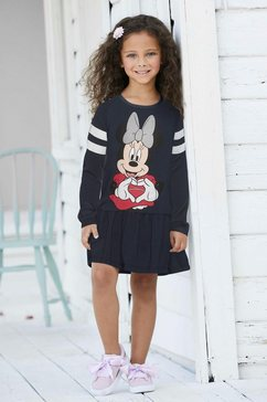 minnie mouse jerseyjurk blauw