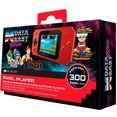 console classic pixel player - handheld-console met 300 spelen rood