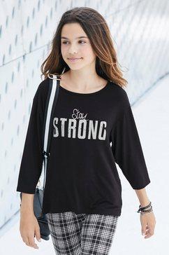 arizona shirt met driekwartmouwen zwart