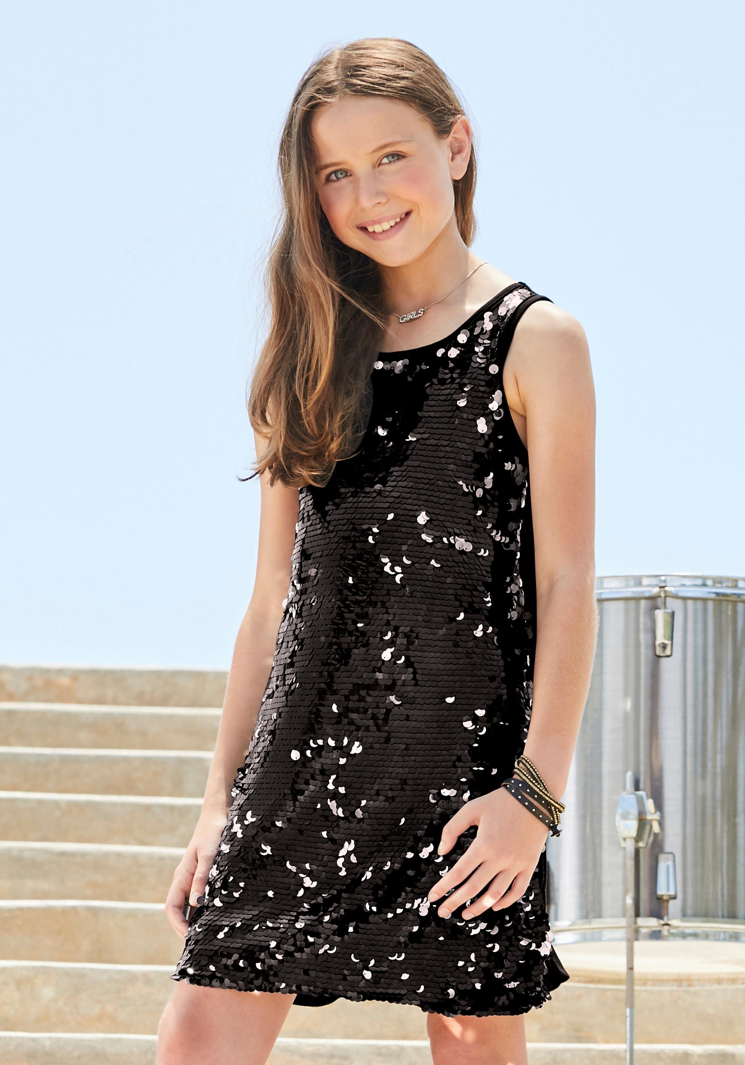 ARIZONA jurk met pailletten veilig op otto.nl kopen