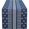 hossner - homecollection tafelloper nigel (1 stuk) blauw