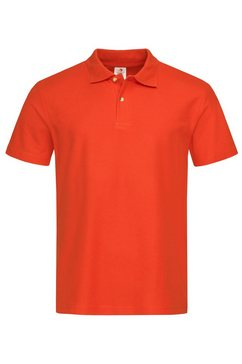 stedman poloshirt oranje