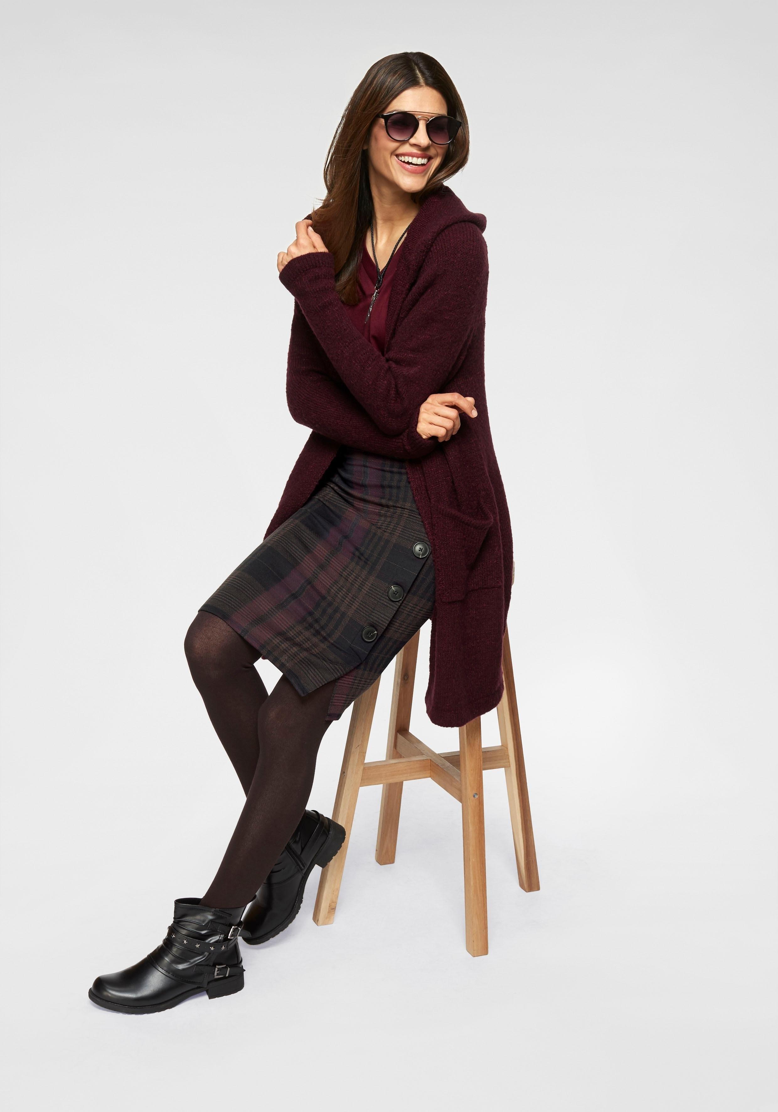 BOYSEN'S vest met capuchon »Oversize« in de webshop van OTTO kopen
