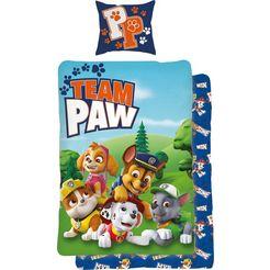 paw patrol kinderovertrekset »team paw«, paw patrol multicolor