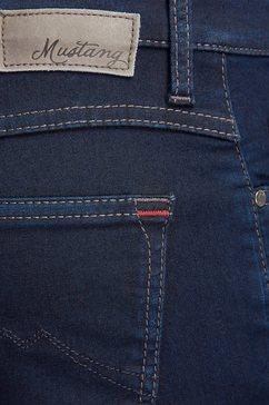 mustang jeans »sissy slim sp« blauw