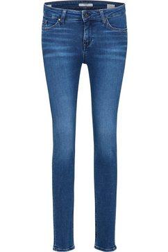 mustang jeans »jasmin jeggins« blauw