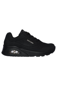 skechers sneakers »uno - stand on air« zwart