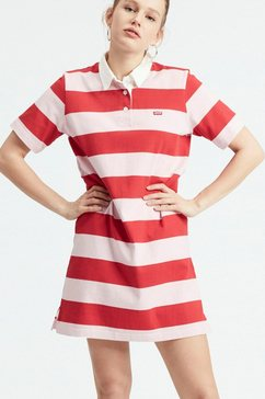 levi's jerseyjurk »rugby dress« rood