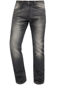 mustang jeans »oregon tapered k« zwart