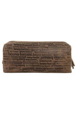 bruno banani toilettas all over (1-delig) bruin