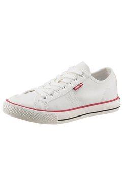 levi's sneakers hernandez s met decoratieve stiksels wit