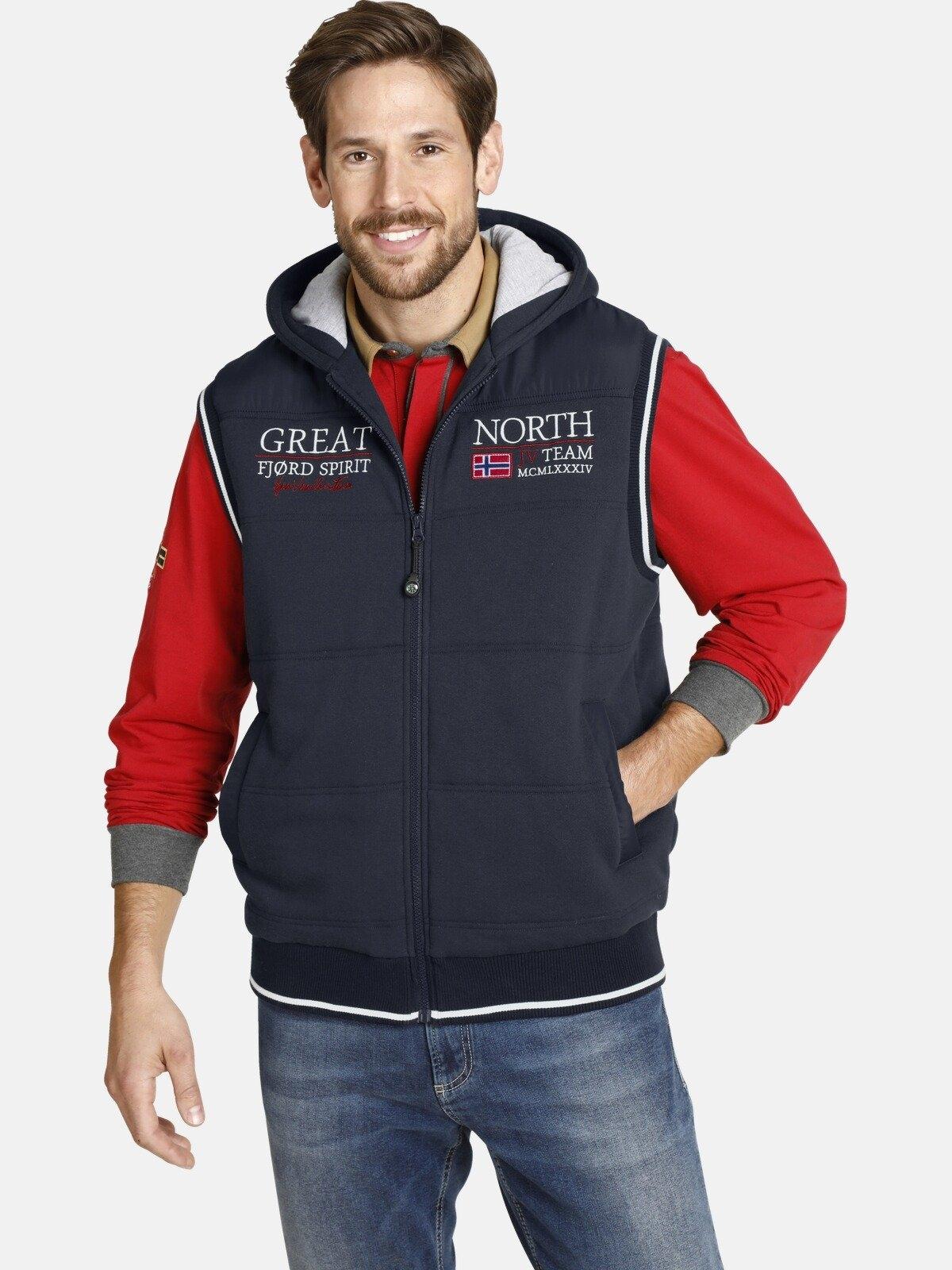 Jan Vanderstorm bodywarmer GONER sportief vest voor buiten nu online bestellen