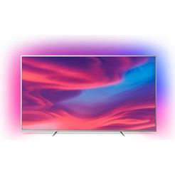 philips 'the one' 70pus7304-12 led-tv (178 cm - 70 inch), 4k ultra hd, smart-tv silberfarben
