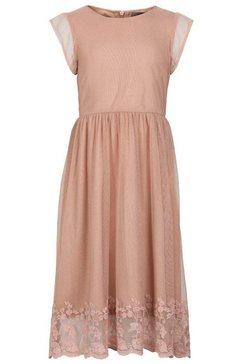 creamie tulen jurk roze