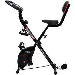 christopeit sport hometrainer christopeit x 3 bike inklapbare hometrainer met arm- been-trekkoordsysteem zwart