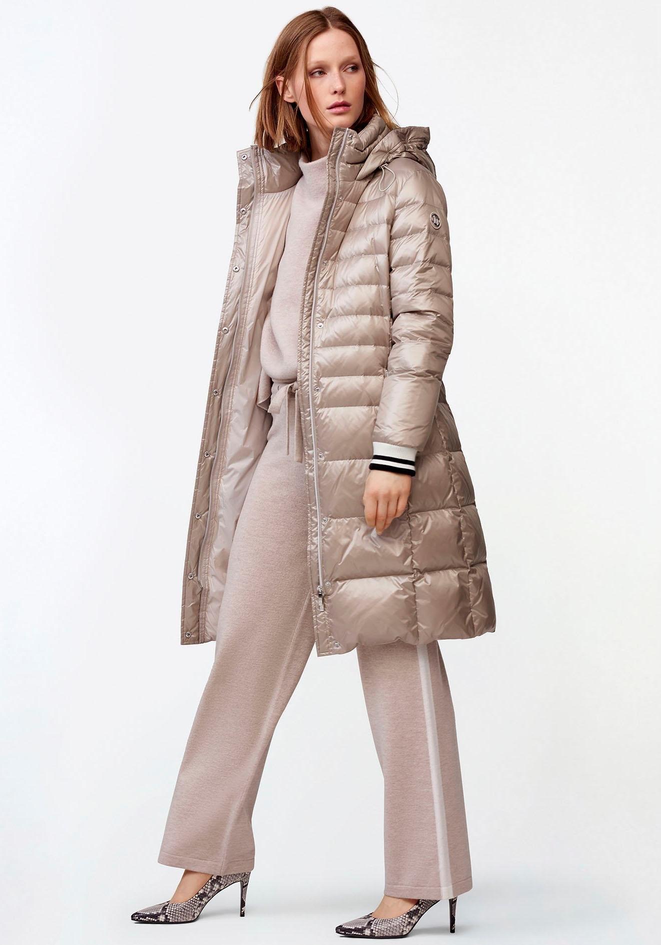 Laurèl doorgestikte mantel nu online bestellen