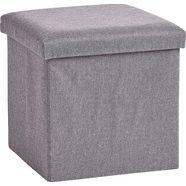 zeller present dekenkist grijs