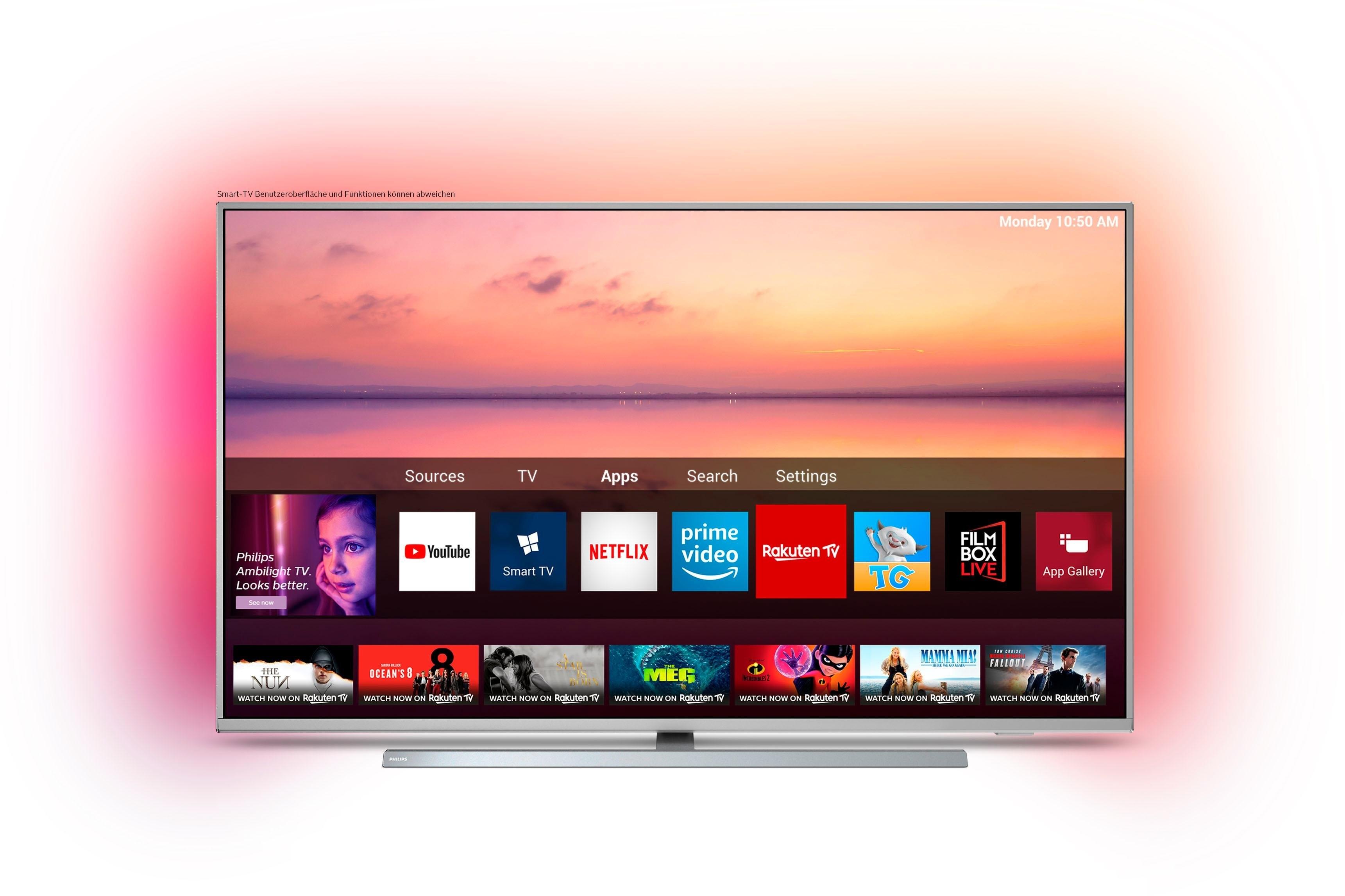Philips 55PUS6804 led-tv (139 cm / 55 inch), 4K Ultra HD, Smart-TV in de webshop van OTTO kopen