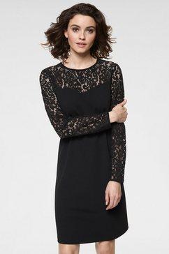 guido maria kretschmer kanten jurk zwart