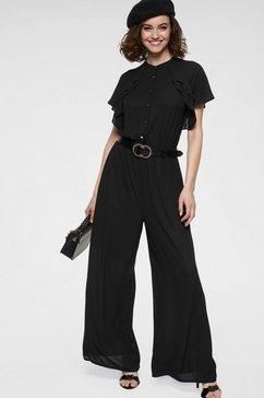 guido maria kretschmer jumpsuit zwart