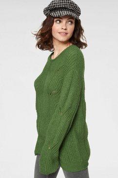 guido maria kretschmer trui met ronde hals groen
