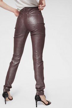 guido maria kretschmer skinny fit jeans rood