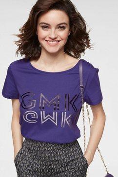 guido maria kretschmer t-shirt paars