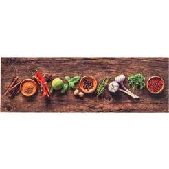keukenloper, »miabella 1669«, astra, rechthoekig, hoogte 7 mm, machinaal getuft multicolor