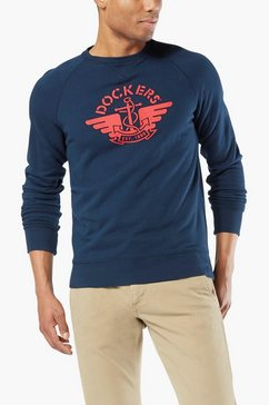 dockers sweatshirt blauw